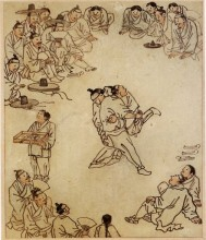 Kim Hong-do Wrestlers (not the BM copy)