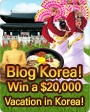 Thumbnail image for Blog Korea! Visit Korea!