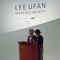 Thumbnail image for Lee Ufan at the opening of Marking Infinity