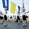 Thumbnail image for DPRK Navy dancing girls greet Chinese dignitaries