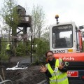 Thumbnail image for A DMZ Watch-tower rises over the Chelsea Showground