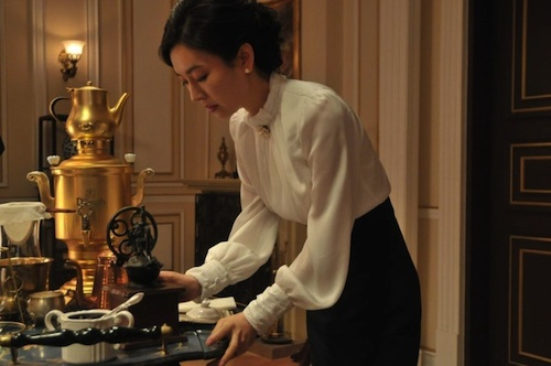 Kim So-yeon as expert barista Tanya