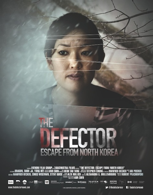 "Affiche du documentaire ""The Defector, escape from North Korea"""