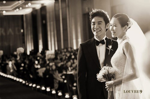 Uhm Tae-woong and Yoon Hye-jin