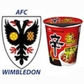 Thumbnail image for Ramyun and the Dons: AFC Wimbledon announces Nongshim Noodle deal