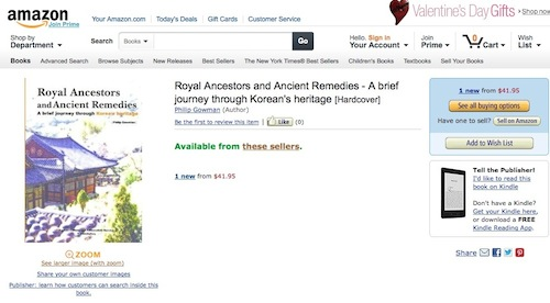 Post image for Royal Ancestors makes it onto Amazon.com