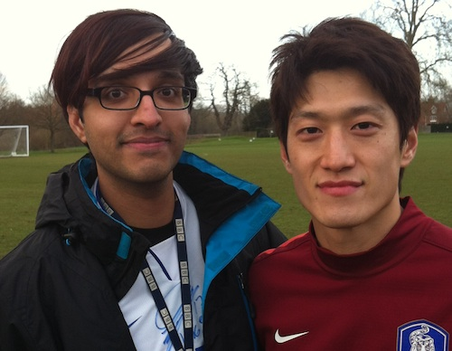 Ash with Lee Chung-yong