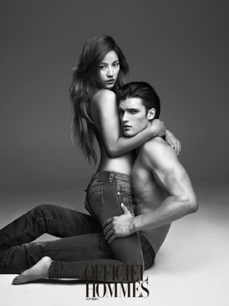 Lee Hyori advertising Calvin Klein jeans