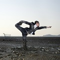 Thumbnail image for Jungho Oak's extreme yoga and Sun Salutations
