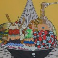Thumbnail image for Exhibition visit: Ha Young Kim's Modern Soup at 43 Inverness Street