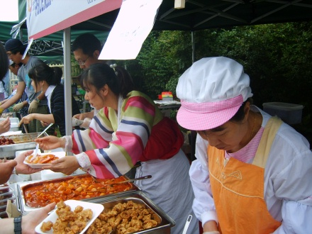 Post image for This year's Korean Food Festival at the Fountain