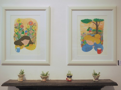 Post image for Kim Ji-eun's current exhibition at Mokspace is utterly charming
