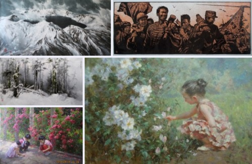 Post image for DPR Korea Fine Art Exhibition, at the DPRK embassy