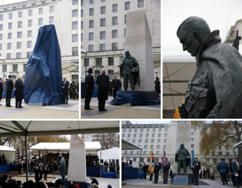 Post image for Korean War Memorial unveiled in London
