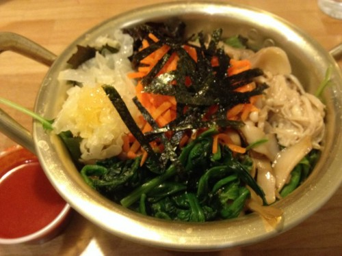 Post image for Namul – a nice bibimbap place in Brighton