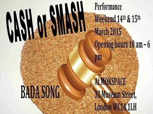 Post image for Bada Song's CASH or SMASH Cornflake Sale, at Mokspace