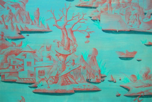 Post image for Hyunjeong Lim: The Figures by the Sea, at James Freeman Gallery