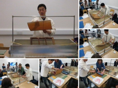 Post image for Making, dyeing and using traditional Korean paper – a rewarding day of workshops at the V+A