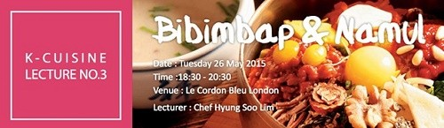 Post image for May cookery demonstration: bibimbap and namul