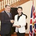 Thumbnail image for Kim Sungjoo awarded honorary OBE