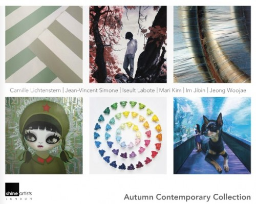 Post image for Exhibition news: Shine Artists Autumn Contemporary Collection