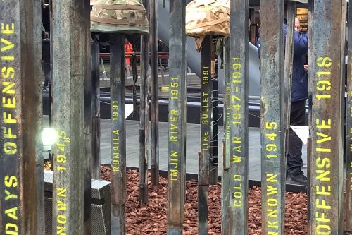 Post image for Korean War not quite forgotten in Canary Wharf art trail