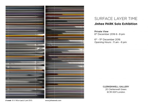 Post image for Exhibition news: Jinhee Park — Surface Layer Time, at Clerkenwell Gallery