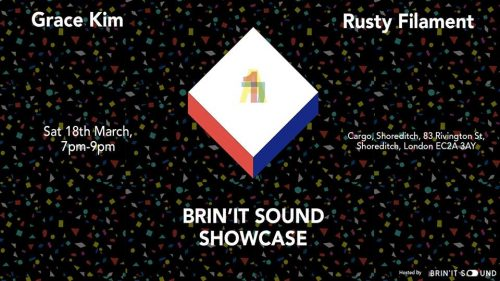 Post image for Event news: Grace Kim + Rusty Filament @ Cargo