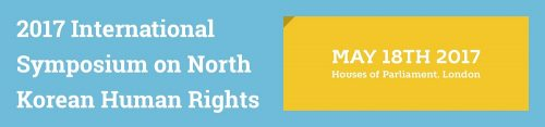 Post image for Event news: the 2017 International Symposium on North Korean Human Rights