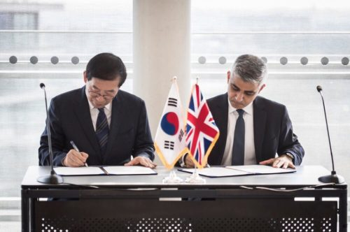 Post image for London and Seoul sign Friendship City agreement