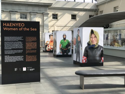 Post image for Exhibition visit: Haenyeo, Women of the Sea, at National Maritime Museum