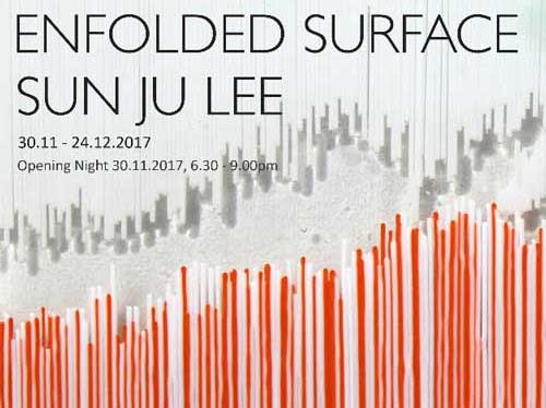Post image for Sunju Lee: Enfolded Surface, at The Muse gallery