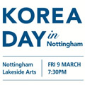 Thumbnail image for Event news: Korea Day in Nottingham
